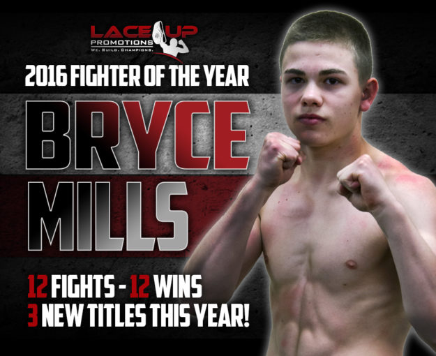 Bryce Mills, Lace Up Promotions