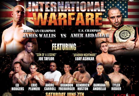 international warfare, lace up promotions kickboxing