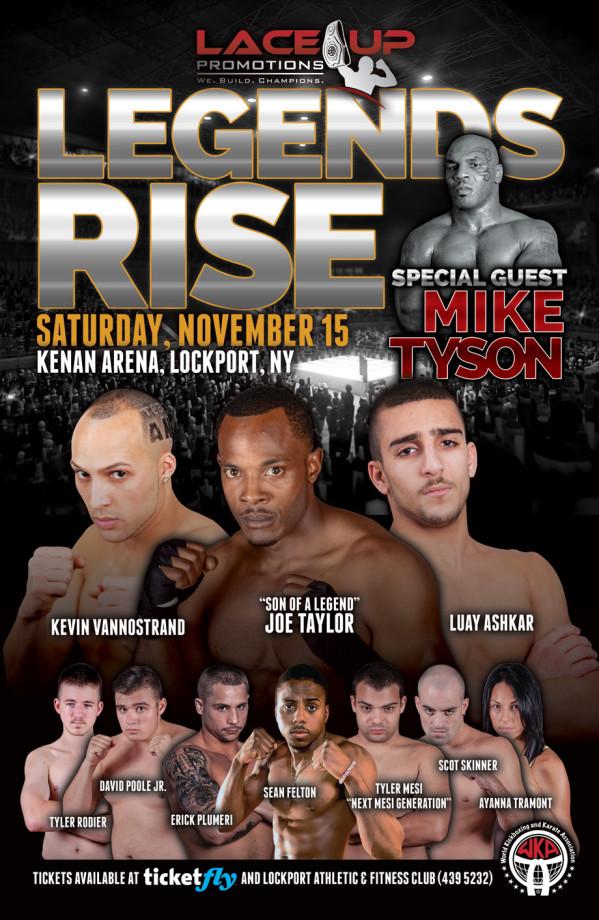 Legends Rise Kickboxing event, Lockport, NY
