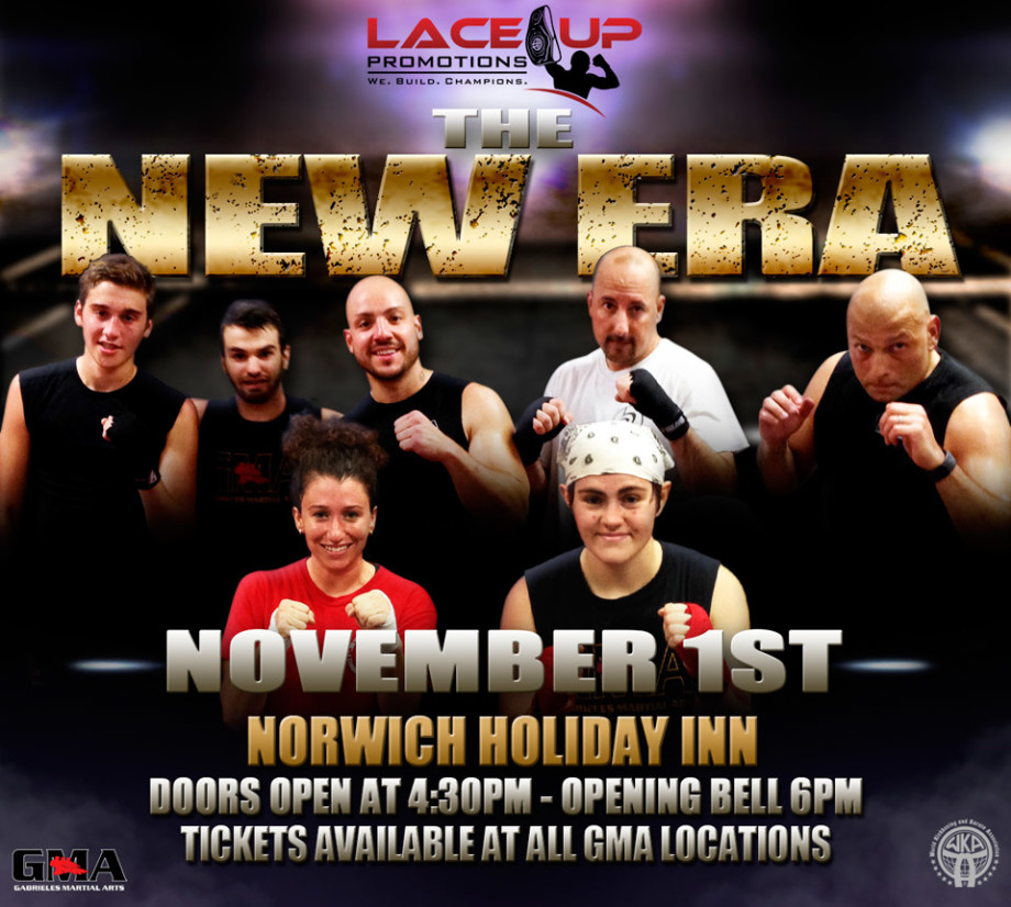 The New Era, kickboxing event, Lace Up Promotions
