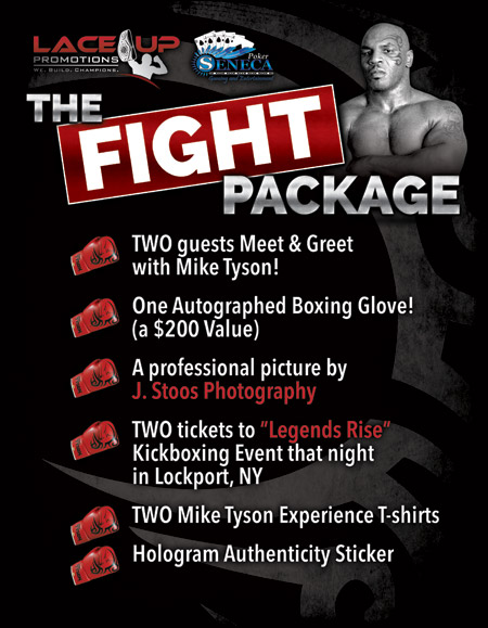 mike tyson, buffalo ny, lace up promotions