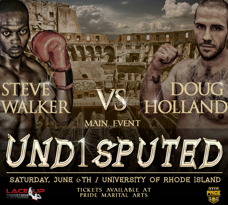 undisputed kickboxing event, lace up promotions
