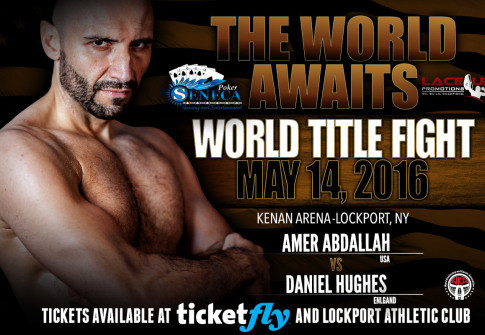 amer abdallah kickboxing champion, lace up promotions