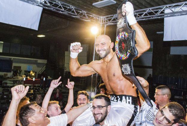 WKA Cruiserweight Champion Amer Abdallah