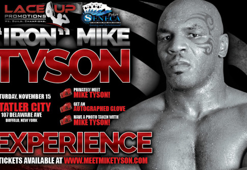 mike tyson in buffalo ny, lace up promotions