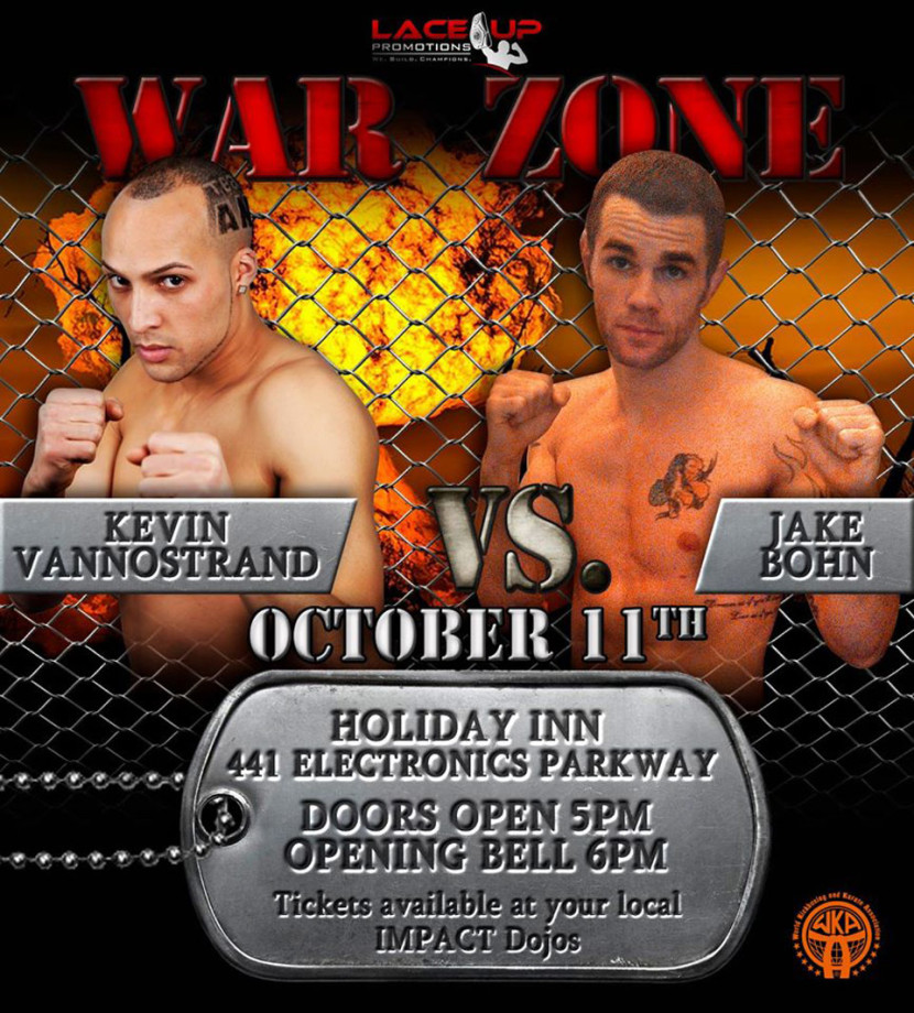 war zone, martial arts event, lace up promotions