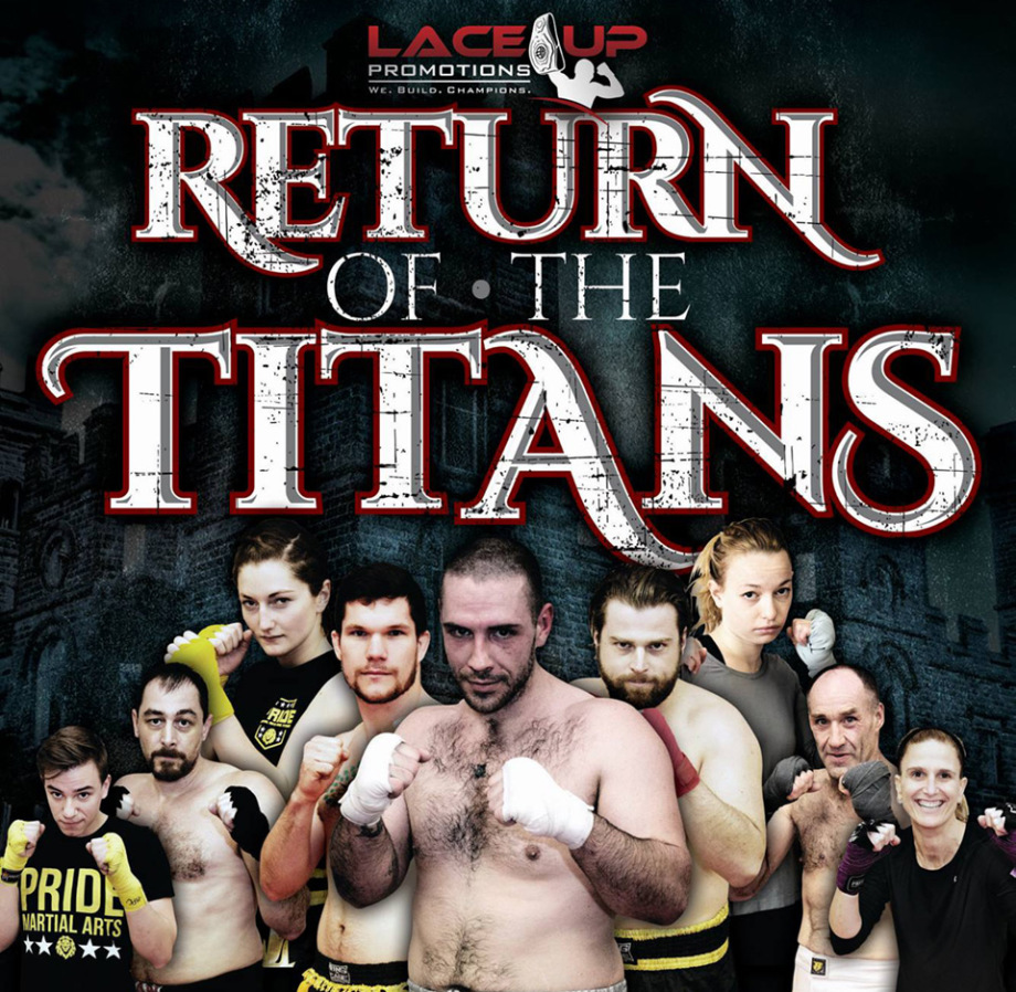 return of the titans, lace up promotions